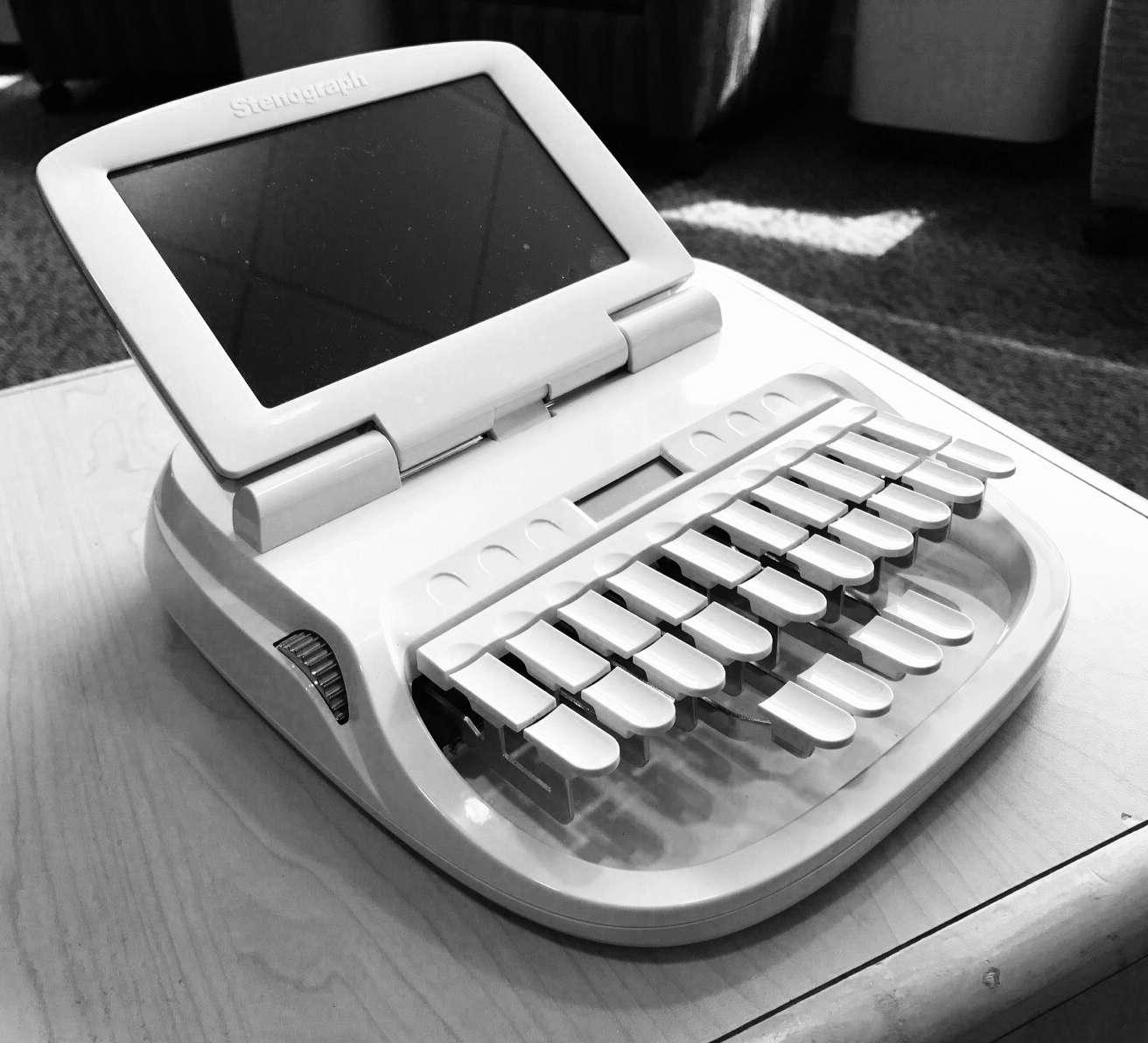 A photo of Norma's stenography machine
