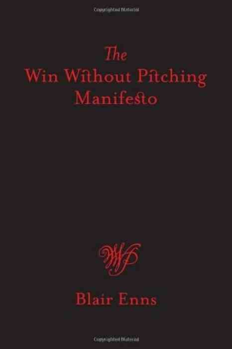 The Win Without Pitching Manifesto cover
