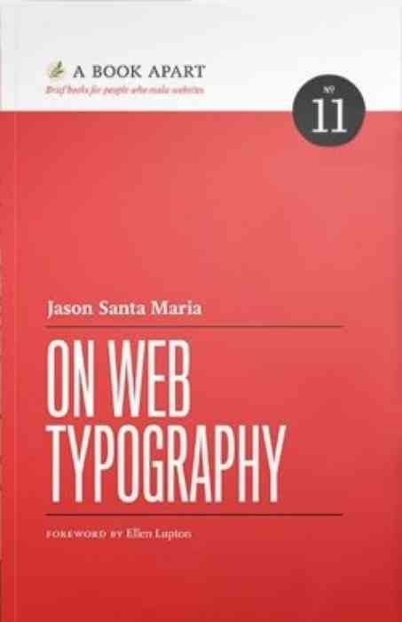 On Web Typography cover