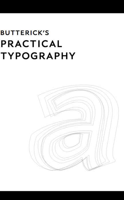 Butterick's Practical Typography cover